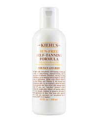 Sun Free Self Tanning Formula For Face And Body 5.0 Fl. Oz. Kiehl's Since 1851