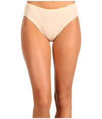 Hanro Cotton Seamless Hi Cut Full Brief 1626 Skin Women's Underwear Beige