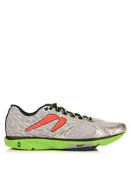 Newton Distance V Low Top Trainers Silver Multi