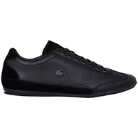 Lacoste Misano 34 Leather Trainers Black