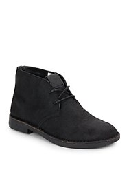 French Connection Lee Suede Chukka Boots Black