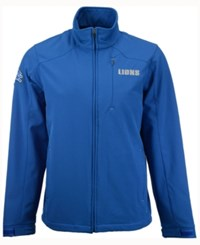 G3 Sports Men's Detroit Lions Fullback Softshell Jacket Blue