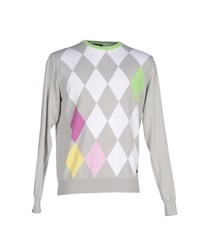 Bramante Knitwear Jumpers Men Light Grey