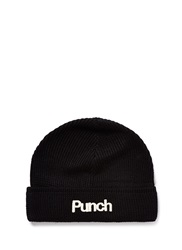 Scotch And Soda 'Punch' Embroidery Wool Blend Beanie