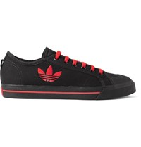 Raf Simons Adidas Originals Spirit Canvas Sneakers Black