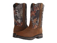 Laredo Hammer Tan Distressed Mossy Oak Men's Work Boots Brown