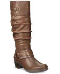Easy Street Shoes Jayda Boots Women's Brown