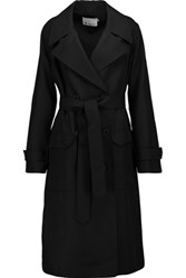 Alexander Wang T By Twill Trench Coat Black