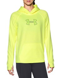 Under Armour Water Resistant Hooded Pullover Lime