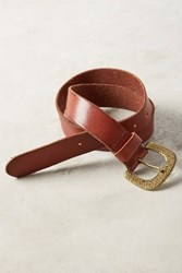 Anthropologie Simply Forged Belt Cognac