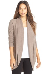 Barefoot Dreams 'Circle' Cardigan Taupe
