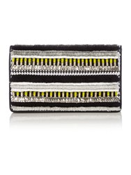 Matthew Williamson Evening Yellow Clutch Bag Yellow
