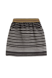 Anna Sui Knit Skirt With Wool Black