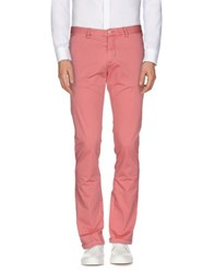 Massimo Rebecchi Trousers Casual Trousers Men Pastel Pink