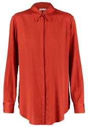 Filippa K Shirt Red Rust