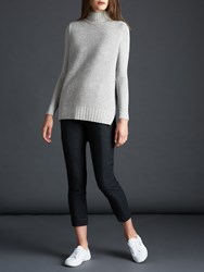Modern Rarity A Line Knitted Tunic Grey