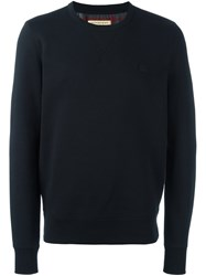 Burberry Crew Neck Sweatshirt Black