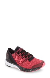 Under Armour Women's 'Charged Bandit 2' Running Shoe Pink Black Pink