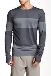 Brooks Streaker Long Sleeve Tee Gray
