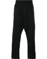 Haider Ackermann Drop Crotch Jogging Trousers Black Khaki