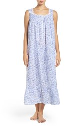 Eileen West Women's Print Cotton Nightgown