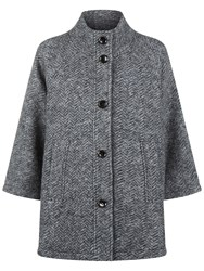 Fenn Wright Manson Satellite Tweed Coat Grey