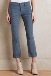 Anthropologie Pilcro Stet Cropped Flare Cords Sky 27 Petite Pants