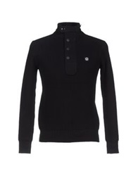 Duck And Cover Turtlenecks Black