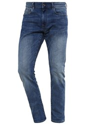 Esprit Slim Fit Jeans Blue Medium Wash Blue Denim