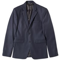 Acne Studios Aron Flannel Jacket Blue