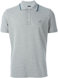 Jacob Cohen Logo Polo Shirt Grey