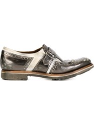 Church's Fringed Monk Shoes Grey