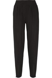Donna Karan New York Stretch Crepe Tapered Pants Black