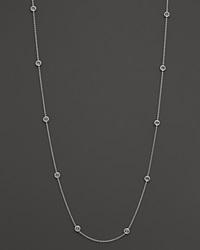 Ippolita Sterling Silver Rock Candy Long Stone Station Necklace In Clear Quartz 48