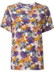 Emilio Pucci Shell Print Top Multicolour