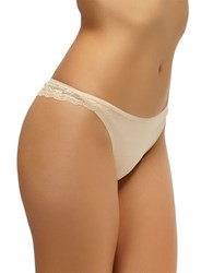 Felina Charming Lace Thong Bare