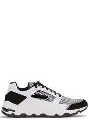Opening Ceremony Almma Monochrome Leather Trainers White