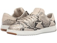 Cole Haan Grandpro Tennis Roccia Snake Print Women's Lace Up Casual Shoes Animal Print