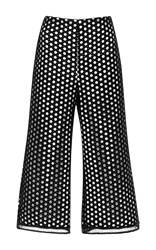 Alexis Collie Embroidered Pant Black