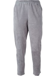 Drome Cropped Trousers Grey