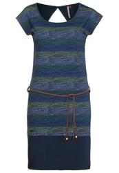 Ragwear Soho Jersey Dress Midnight Dark Blue