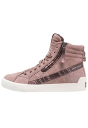 Diesel Dstring Plus W Hightop Trainers Moka Brown