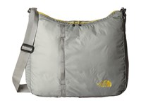 The North Face Flyweight Tote Moon Mist Grey Antique Moss Green Tote Handbags Gray