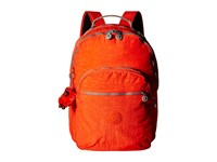 Kipling Seoul Backpack With Laptop Protection Imperial Orange Chestnut Combo Backpack Bags