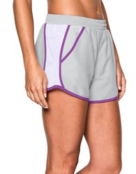 Under Armour Fly By Lightweight Shorts Grey