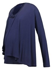 Bellybutton Jordana Long Sleeved Top Peacoat Dark Blue