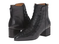 Thakoon Estelle 01 Black Leather Women's Zip Boots