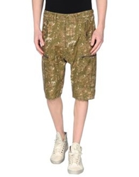 French Connection Bermudas Military Green