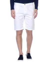 Geox Trousers Bermuda Shorts Men White