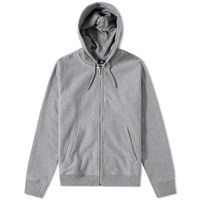 Paul Smith Basic Zip Hoody Grey